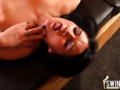Blowjob im swingerclub