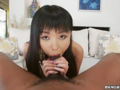 Petite asian marica hase interracial anal sex in hd