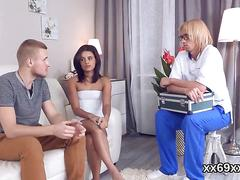 Stud assists with hymen physical and banging of virgin chick movie