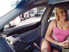 Hitchhiker destiny gets her pussy pounded by man meat