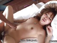 hardcore, small tits, japanese, japanhdv, young, english-subtitles, jav, pussy-eating, cock-sucking, blowjob, natural-tits, small-boobs, trimmed, missionary
