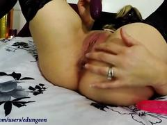Pulsing squirting anal orgasm - amateur self-love
