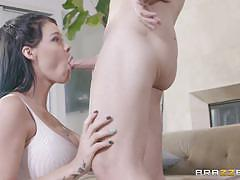 Sexy sisters peta jensen and megan rain share cock