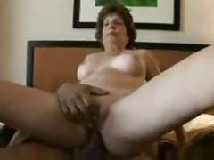 Old woman trying porn