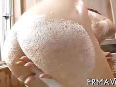 asian, hardcore, japanese, masturbation, blowjob, fucking, bath, skinny, vibrator