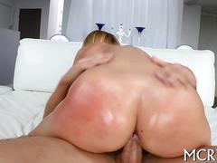 ass, blonde, busty, hardcore, big tits, blowjob, big ass, oral, spanking