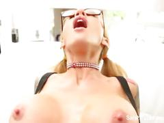 big tits, blonde, hardcore, milf, sarahjessie, big-boobs, mom, mother, busty, blondie, puba, pornstar, glasses, tease, doggystyle, reverse-cowgirl, cumshot, cum-on-tits