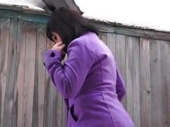 amateur, fetish, russian, verified amateurs, pissing, kink, pee, piss, golden-rain, gaping-holes, hairy-pussy, urinating, outside, public, peeing, brunette, nice-ass