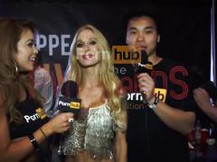 Pornhubtv sarah jessie interview at 2015 avn awards
