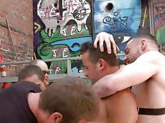 gay bdsm, gay handjob, gay blowjob, gay gangbang, outdoor, sex slave, public, rope bondage, whipping, bound in public, kink men, leon fox, jimmy bullet