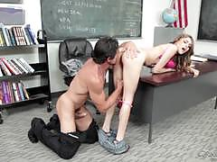 Randy teacher bangs deep into rebel lynn