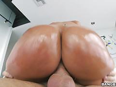 jada stevens, brunette, blowjob, riding, doggystyle, voluptuous, curvy, sucking, licking pussy