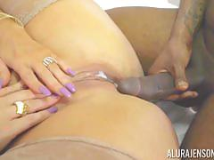 alura jenson, fucked, doggystyle, cumshot, blonde, milf, deep, creampie, reverse cowgirl, black dick, voyeur, ride