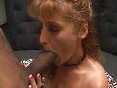big natural tits, blowjobs, interracial