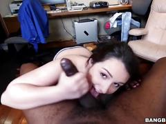 Monster cock makes that pussy cream