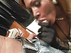 Black tranny banging guy's ass @ black transsexuals #04