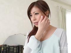Shaves his hot asian secretary - chihiro akino