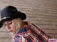 A very hardcore sex action in the ranch with these cowgirls