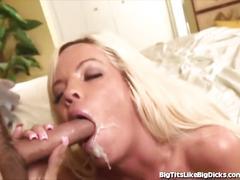 Busty secretary can't resist a big dick