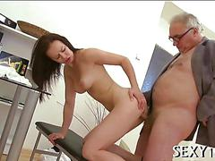 Teacher is getting wet blowjob clip