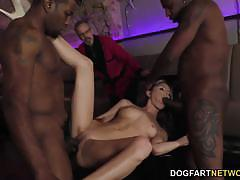 Sizzling doris ivy fucked in threesome