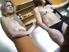 blonde, granny, lesbians, mature, saggy tits, tits sucking, oma hotel, old nanny, rita xx