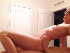 amateur, blonde, hardcore, pov, verified amateurs, point-of-view, female-friendly, eating-pussy, suck-on-clit, hot-natural-tits, sexy-yoga-pants, drunk-girl, no-makeup, blonde-glasses, dildo, doggy-style, reverse-cowgirl, cock-sucking, missionary-pounding, pretty-pussy