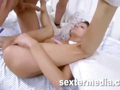 Anal teen is squirting