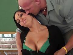 Teacher dylan ryder slammed hard in the cute pussy