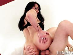 Pussy thrashed doggy style miss alura jenson and brandi may