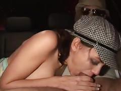 Auto seks in de avond