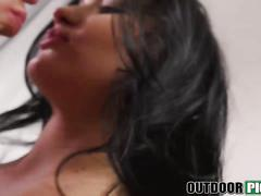 Euro hottie daphne klyde gets wild and nasty on camera