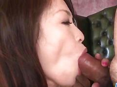 Mei naomi loves more than one cock in her tight holes