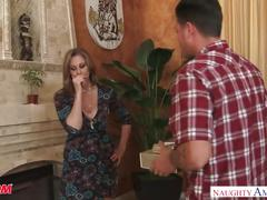 Big tits uber milf julia ann bangs her daughter's suitor - naughty america