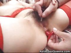 hardcore, milf, small tits, japanese, asiansexqueens, asian, fucking, stockings, dildo, hairy-pussy, butt-plug, small-tits, natural-boobs, doggy-style