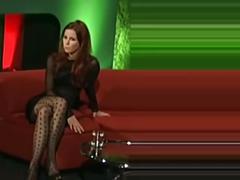 Lena meyer-landrut in geilen nylons