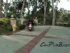 Teen biker groupies