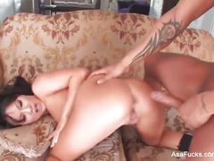 Asian stripper asa gives a lapdance and gets fucked