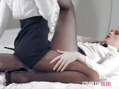 fetish, hardcore, toys, lesbian, uniforms, straplessdildo, girl-on-girl, adult-toys, kink, strapon, pantyhose, office-lady, high-heels, lesbo, tribbing, dry-humping, red-bottoms