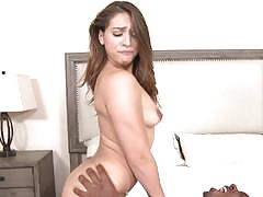 Huge black cock slams the clit slit of sara luvv
