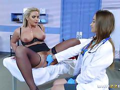 Hot doc dani daniels clinic fuck with phoenix marie