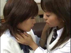 Japanese deep tongue kissing