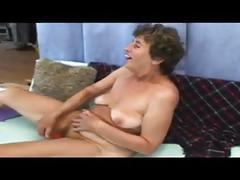 Nasty old lady ludmila has a young stud's cock