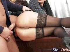 Glam fucked ass spunked