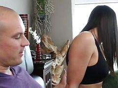 Creampie first timer kymberlee gets satisfied by her lover