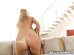 Bbc loving babe riding cowgirl style