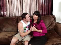 Saucy stepson gets mercedes carrera squirting
