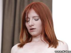 X-sensual - redhead on vacation