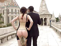 bdsm, spanking, babe, street, butt plug, sex slave, public disgrace, sexy lingerie, on leash, public disgrace, kink, frank gun, tina kay, steve holmes, zara durose