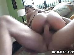 Asian beauty fucked hard